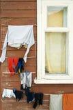 Vestiti di secchezza Fotografia Stock Libera da Diritti