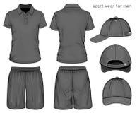 Vestiti di sport degli uomini Immagini Stock Libere da Diritti