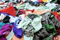 Vestiti e colori Fotografia Stock Libera da Diritti