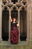 Vestiti gotici di modo di stile Fotografia Stock Libera da Diritti