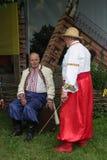 Vestiti nazionali ucraini Fotografia Stock