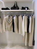 Vestiti in negozio Fotografia Stock Libera da Diritti