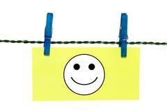 Vestiti Pin Note Fotografie Stock