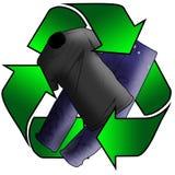 Vestiti riciclati Fotografia Stock
