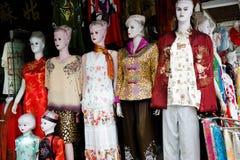 Vestiti tradizionali cinesi Fotografia Stock