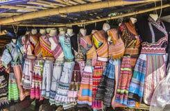 Vestiti tribali Fotografia Stock
