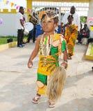 Vestito africano Fotografia Stock