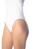 Vestito bianco del corpo Immagine Stock Libera da Diritti