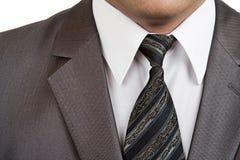 Vestito convenzionale dell'uomo d'affari Fotografie Stock