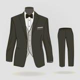 Vestito convenzionale per gli uomini illustrazione di stock