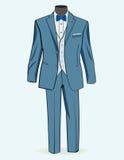Vestito convenzionale per gli uomini illustrazione vettoriale