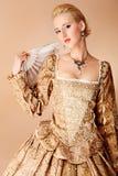 Vestito da carnevale Fotografie Stock
