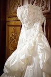 Vestito da cerimonia nuziale Fotografia Stock Libera da Diritti