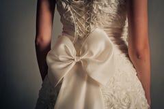 Vestito da cerimonia nuziale Immagini Stock