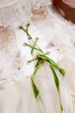 Vestito da cerimonia nuziale fotografia stock