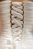 Vestito da cerimonia nuziale del corsetto Fotografie Stock Libere da Diritti