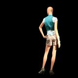 Vestito da modo sul mannequin Immagine Stock Libera da Diritti