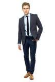 Vestito da portare dell'uomo alla moda Fotografia Stock