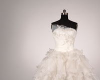 Vestito da sposa Fotografia Stock Libera da Diritti