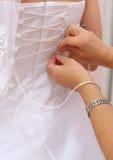 Vestito da sposa Immagine Stock