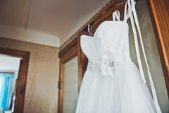 Vestito da sposa 1627 Fotografia Stock Libera da Diritti