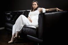 Vestito da sposa nuziale moderno fotografia stock