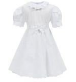 Vestito dal ` s dei bambini isolato su fondo bianco Immagini Stock Libere da Diritti