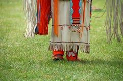 Vestito dall'nativo americano Immagine Stock Libera da Diritti