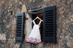 Vestito dalla bambina Fotografia Stock Libera da Diritti