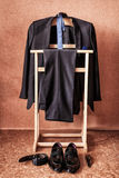 Vestito del ` s degli uomini immagini stock libere da diritti