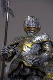 Vestito dell'armatura medioevale Fotografia Stock Libera da Diritti