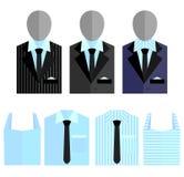 Vestito dell'uomo Fotografia Stock Libera da Diritti