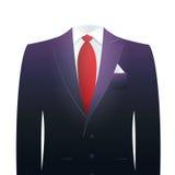 Vestito dell'uomo d'affari senza testa Fotografie Stock Libere da Diritti