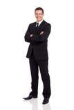 Vestito dell'uomo di affari immagine stock libera da diritti
