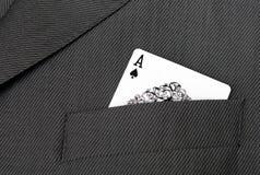 Vestito della scheda Fotografie Stock