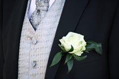 vestito dello sposo Fotografie Stock