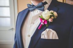 Vestito dello sposo Fotografia Stock Libera da Diritti