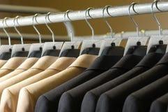 Vestito di affari sul gancio Immagine Stock