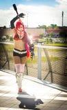Vestito di cosplay Fotografie Stock Libere da Diritti
