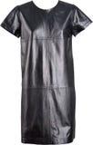 vestito di cuoio nero immagine stock