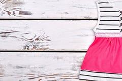 Vestito elegante da estate della ragazza del bambino Fotografie Stock