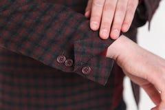Vestito elegante ed alla moda Affare, scollatura, classica, eleganza Fotografie Stock