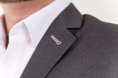 Vestito elegante ed alla moda Affare, scollatura, classica, eleganza Fotografie Stock Libere da Diritti