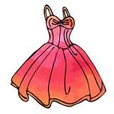 Vestito elegante royalty illustrazione gratis