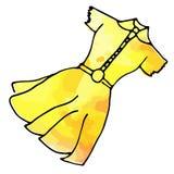Vestito elegante illustrazione vettoriale