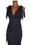 Vestito femminile nero Fotografie Stock Libere da Diritti
