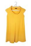 Vestito giallo Fotografia Stock