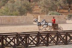Vestito giordano dagli uomini come soldato romano Fotografia Stock Libera da Diritti