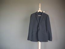 Vestito grigio per l'uomo di affari Immagine Stock Libera da Diritti