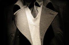 Vestito moderno dell'uomo di affari con il legame Fotografie Stock